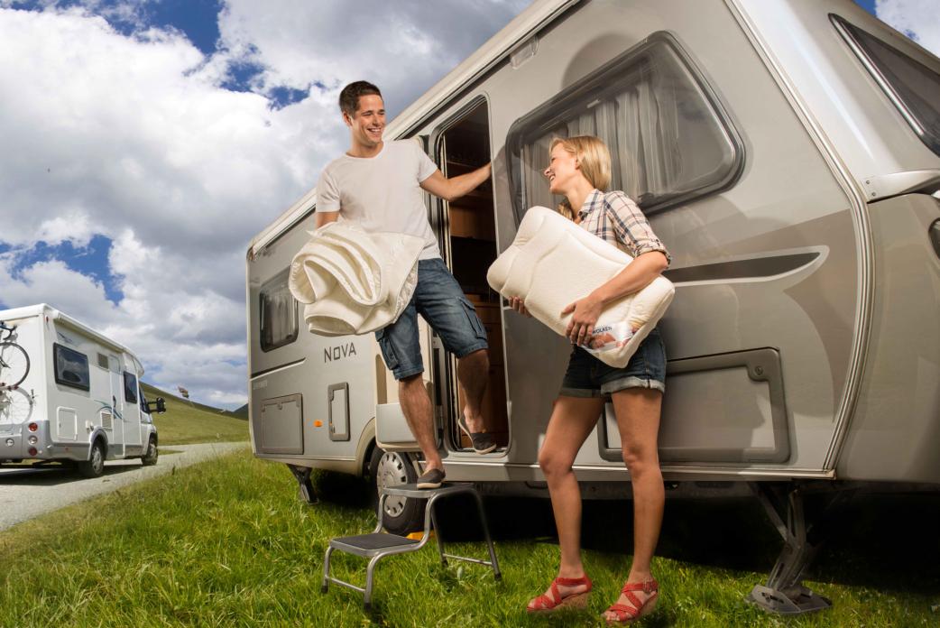 matratzen schlafsysteme f r wohnmobile wohnwagen camper. Black Bedroom Furniture Sets. Home Design Ideas